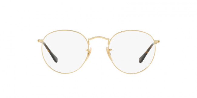 ae28a6f80f Okulary korekcyjne lenonki - Ray-Ban® ROUND METAL OPTICS RX3447V 2500